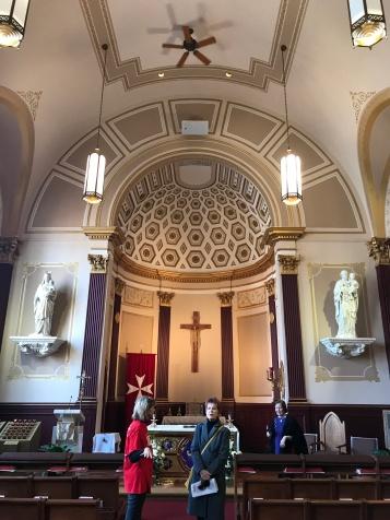 St. Louise de Marillac Chapel.